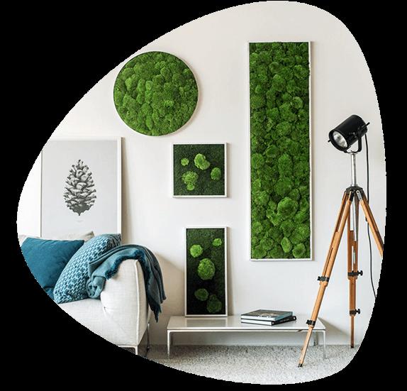 framed-moss
